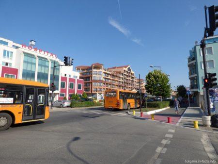 Автобусы в Болгарии