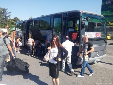 Автобус в Варну из Несебра