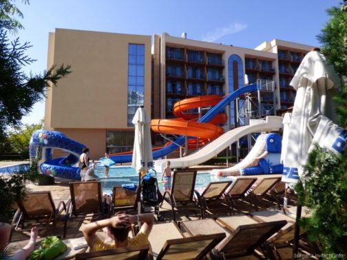 Аквапарк на территории отеля на СБ