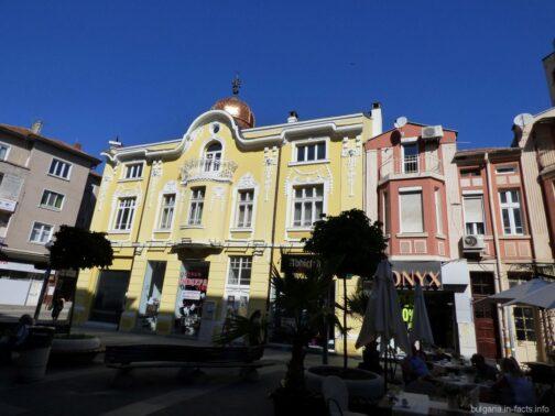 Архитектура Бургаса