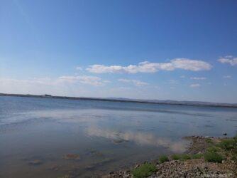 Берег Поморийского озера