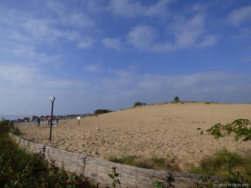 Бесплатный пляж в Несебре
