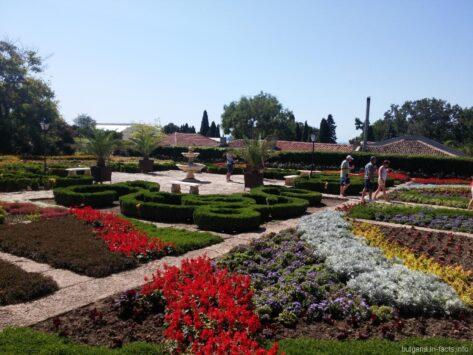 Ботанический сад в городе Балчик