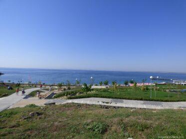 Будущий парк в Равде