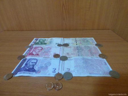 Валюта в Болгарии