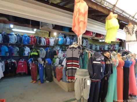 Вещевой рынок в Несебре