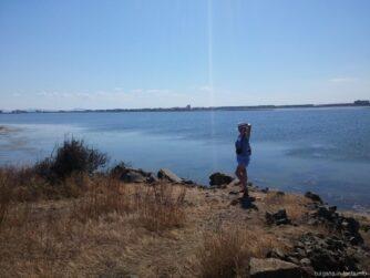 Вид на Поморийское озеро