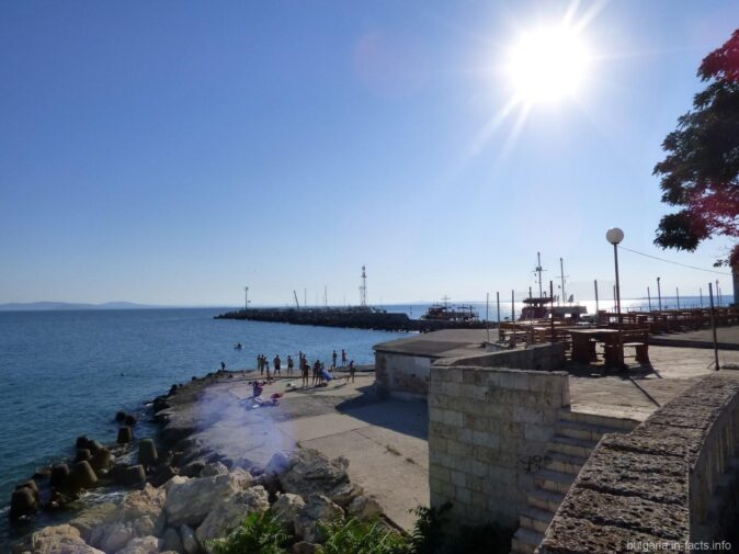 Вид на море в Поморье