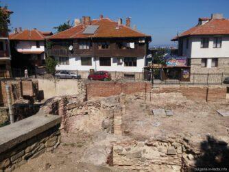 Византийские бани в Старом Несебре
