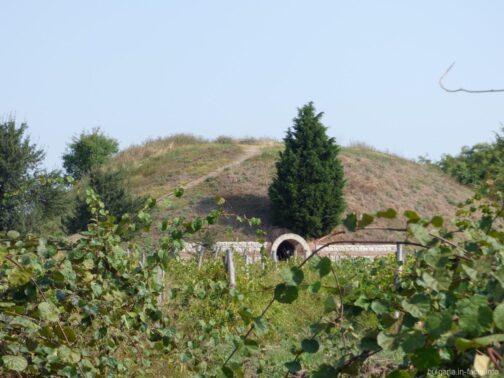 Вход в Поморийскую гробницу