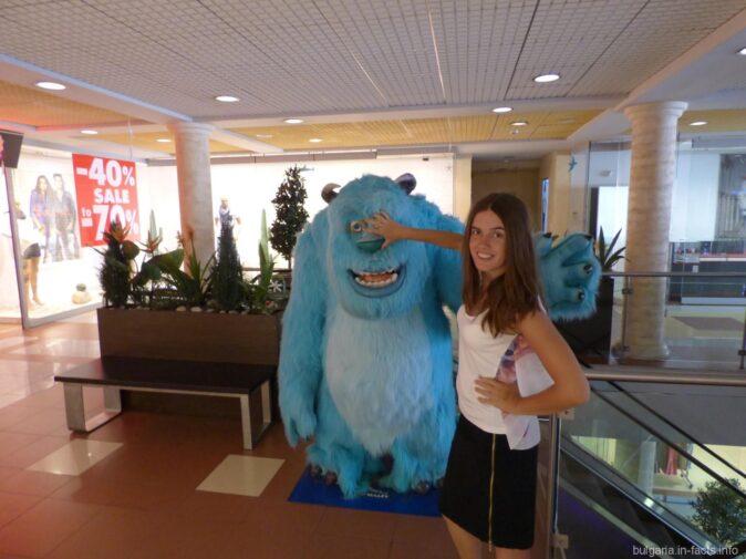В торговом центре Бургаса
