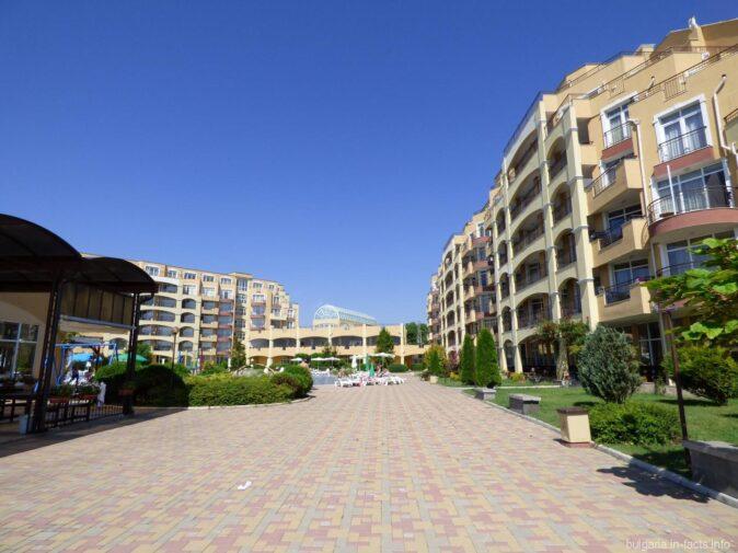 Гостиничный комплекс в Ахелое