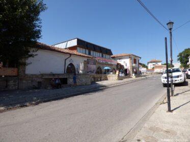 Дорога к автовокзалу Балчика