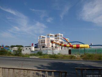 Достраивающийся аквапарк в Поморье