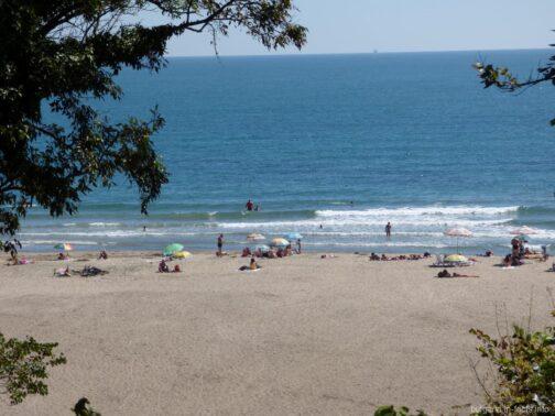 Загруженность пляжей в Болгарии