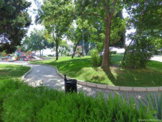 Зеленый город Несебр