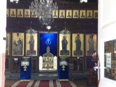 Иконы в церкви Рождества Богородицы
