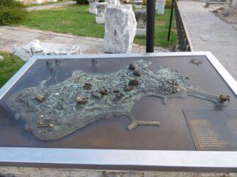 Карта Старого Несебра