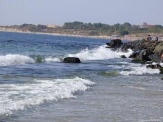 Красивое море в Несебре
