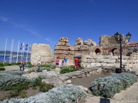Крепостная стена Несебра