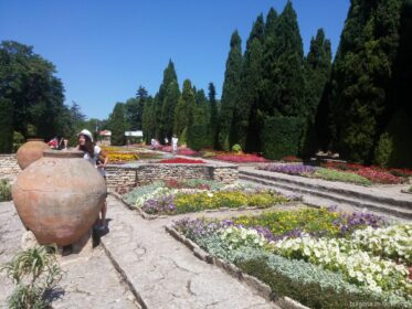 Кувшины в саду Аллаха в Балчике