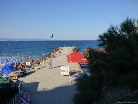 Кусочек Центрального пляжа в Поморие