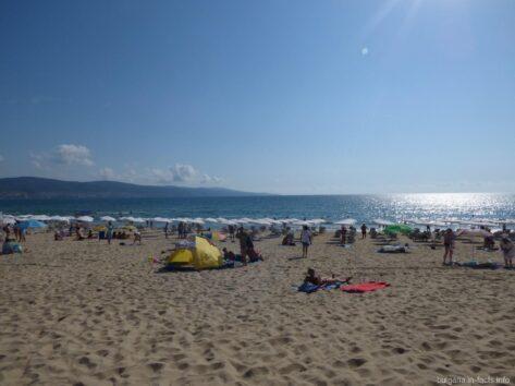 Кусочек пляжа на Солнечном береге