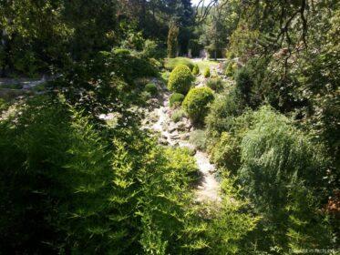 Ландштафтный дизайн парка в Балчике