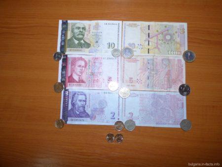 Левы - традиционная валюта Болгарии