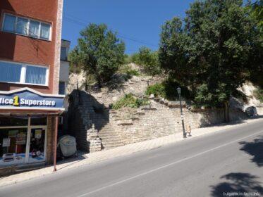 Лестница в Балчике