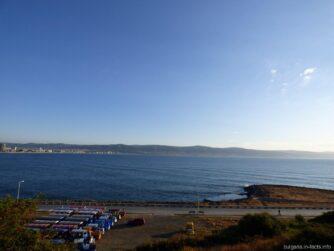 Море между Несебром и Солнечным берегом