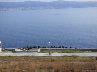 Море с высоты возле Несебра