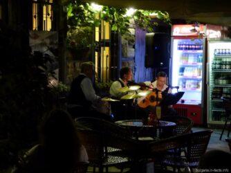 Музыканты на улицах Несебра