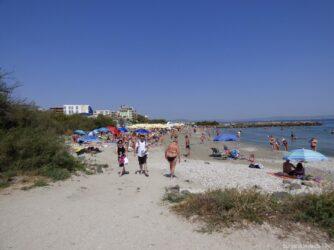 На одном из пляжей Помория