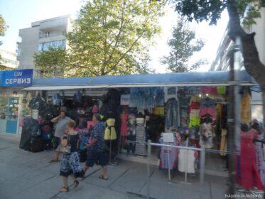 Небольшой рынок в Варне