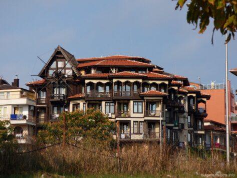 Необычная гостиница в Несебре