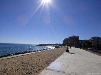 Новая часть Поморья пляж