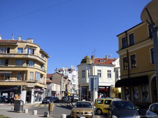 Одна из улиц Бургаса