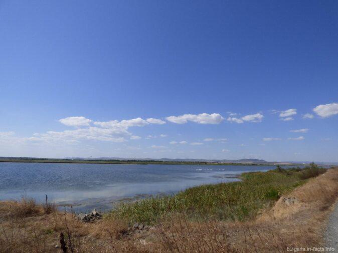 Пейзажи Поморийского озера