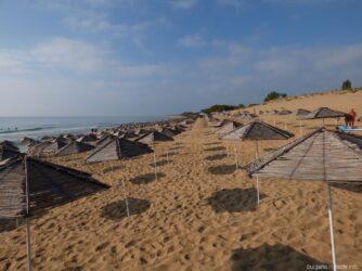 Песчаный пляж Дюна в Несебре