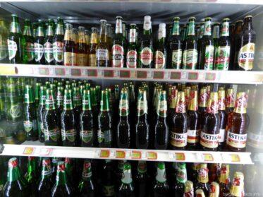 Пиво в магазине Несебра