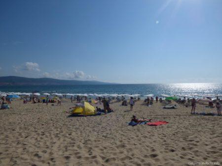 Пляжи Солнечного берега фото