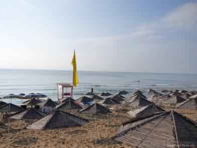 Пляж Песчаные Дюны в Несебре
