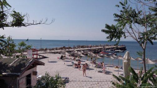 Пляж в Старом Несебре