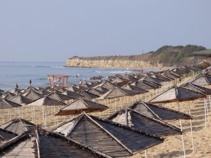 Пляж дюна в Несебре