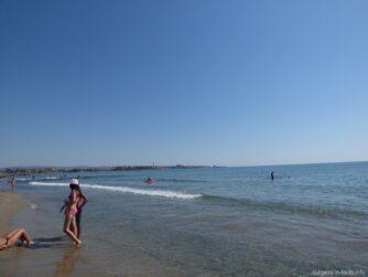 Пляж на косе возле Ахелоя