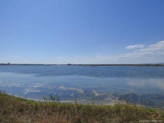 Поморийское озеро рядом с Поморьем