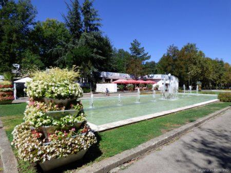 Приморский парк на территории города Бургас