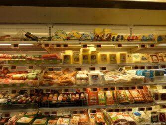 Продукты из супермаркета в Несебре