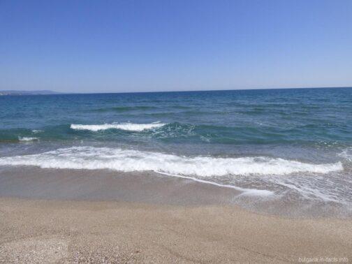 Пустынные пляжи Болгарии на фото